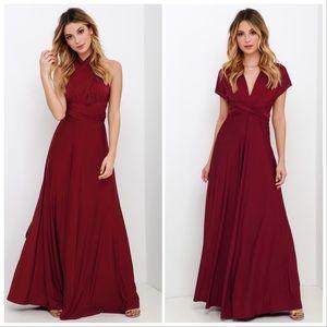 Lulu's | Always Stunning Convertible Maxi Dress